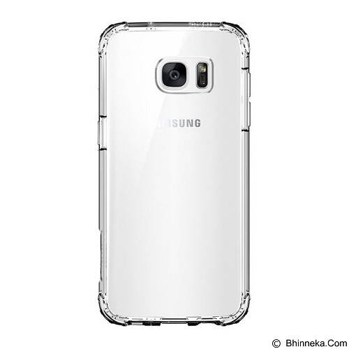 SPIGEN Samsung Galaxy S7 edge Case Crystal Shel -l Clear Crystal - Casing Handphone / Case
