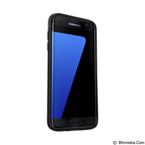 SPIGEN Samsung Galaxy S7 edge Case Rugged Armor - Black - Casing Handphone / Case