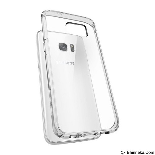 SPIGEN Samsung Galaxy S7 edge Case Ultra Hybrid - Clear - Casing Handphone / Case