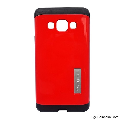 SPIGEN Slim Armor Case Samsung Galaxy A3 - Red (Merchant) - Casing Handphone / Case