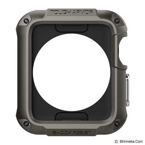 SPIGEN Tough Armor Apple Watch 42 MM - Black - Casing Smartwatch / Case