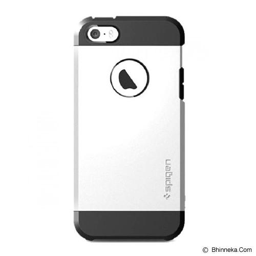 SPIGEN Tough Armor iPhone 5/5S - White - Casing Handphone / Case