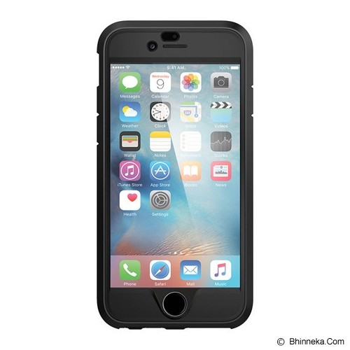 SPIGEN iPhone 6S Case Perfect Armor [SGP11615] - Black - Casing Handphone / Case