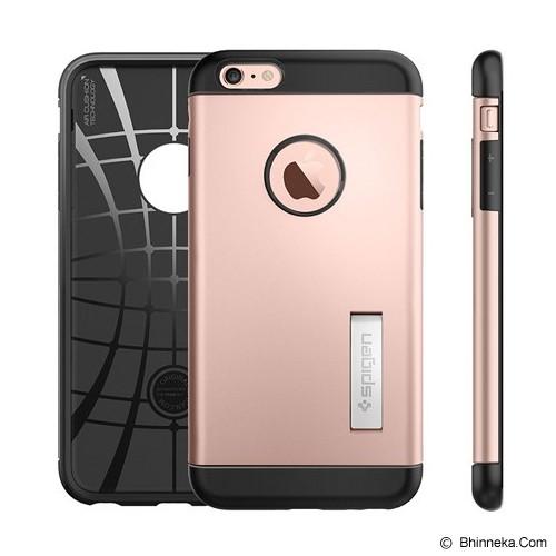 SPIGEN iPhone 6S Plus Case Slim Armor [SGP11727] - Rose Gold - Casing Handphone / Case