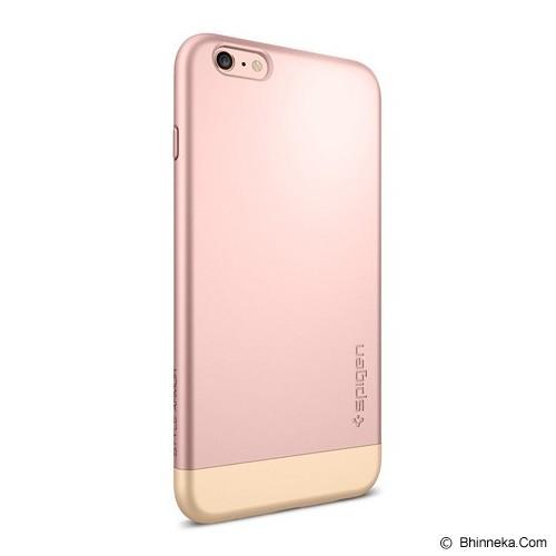 SPIGEN iPhone 6S Plus Case Style Armor [SGP11728] - Rose Gold - Casing Handphone / Case
