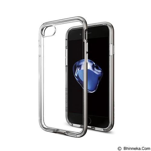 SPIGEN iPhone 7 Case Neo Hybrid Crystal [042CS20522] - Gun Metal - Casing Handphone / Case
