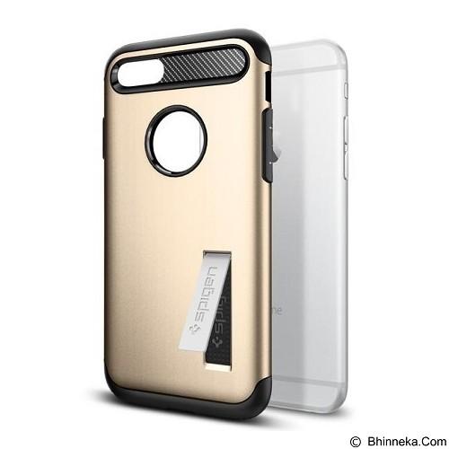 SPIGEN iPhone 7 Case Slim Armor [042CS20302] - Champagne Gold - Casing Handphone / Case