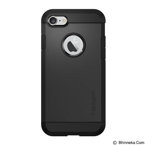 SPIGEN iPhone 7 Case Tough Armor [042CS20491] - Black - Casing Handphone / Case