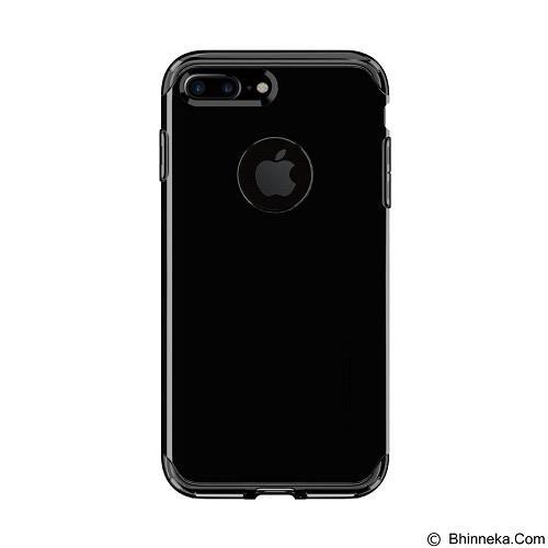 SPIGEN iPhone 7 Plus Case Hybrid Armor [043CS20849] - Jet Black - Casing Handphone / Case