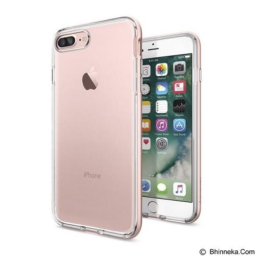SPIGEN iPhone 7 Plus Case Neo Hybrid Crystal [043CS20542] - Rose Gold - Casing Handphone / Case