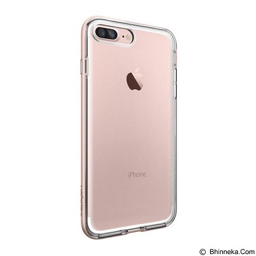 SPIGEN iPhone 7 Plus Case Neo Hybrid Crystal [043CS20542] - Rose Gold - Casing Handphone / Case