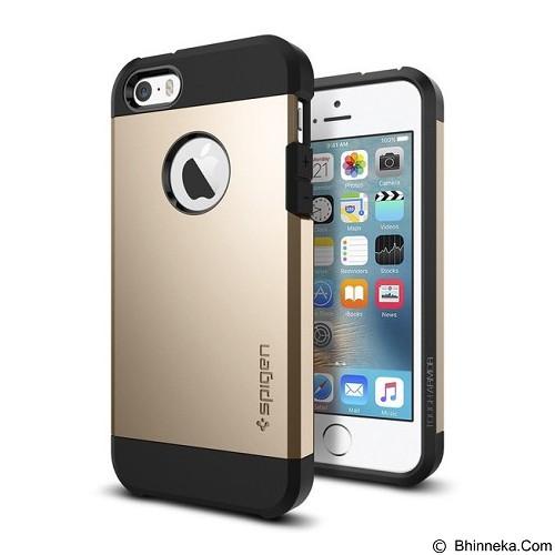 SPIGEN iPhone SE/5S/5 Case Tough Armor [041CS20252] - Champagne Gold - Casing Handphone / Case