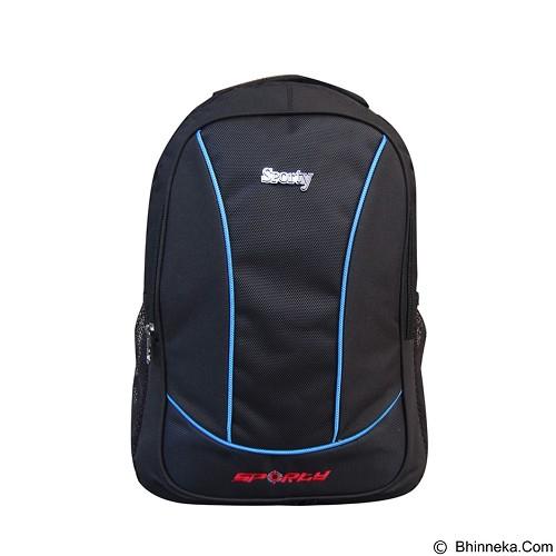 SPORTY Tas Ransel Sekolah [230a] - Blue (Merchant) - Tas Punggung Sport/Backpack