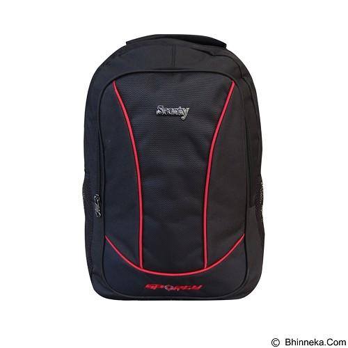 SPORTY Tas Ransel Sekolah [230b] - Red (Merchant) - Tas Punggung Sport / Backpack