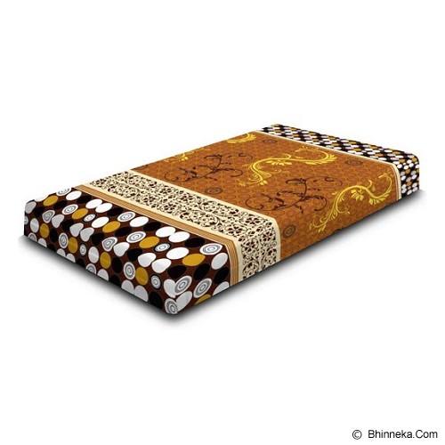 MONALISA Sarung Kasur Motif Gold Ukuran 160x200x15 - Seprai & Handuk