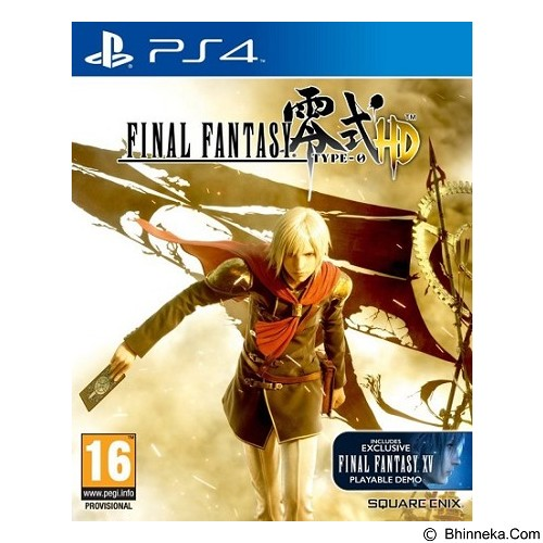 SQUARE ENIX Square Enix DVD PS4 Final Fantasy Type-0 HD (Merchant) - Cd / Dvd Game Console