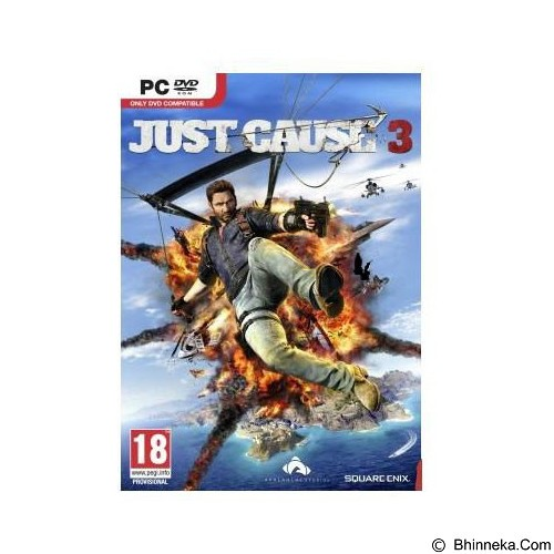SQUARE ENIX Just Cause 3 Cd Key Steam (Merchant) - Cd / Dvd Game Console