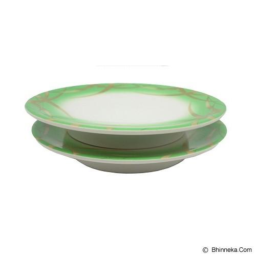SSLAND Colour Plate [I-PLATE-038] - Green (V) - Piring Makan