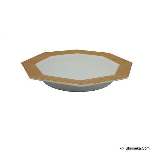 SSLAND Colour Plate Square Japan [I-PLATE-042] - Gold (V) - Piring Makan