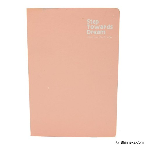 SSLAND Notebook Step Towards Dream 14cm [5366] - Peach (V) - Buku Catatan / Journal