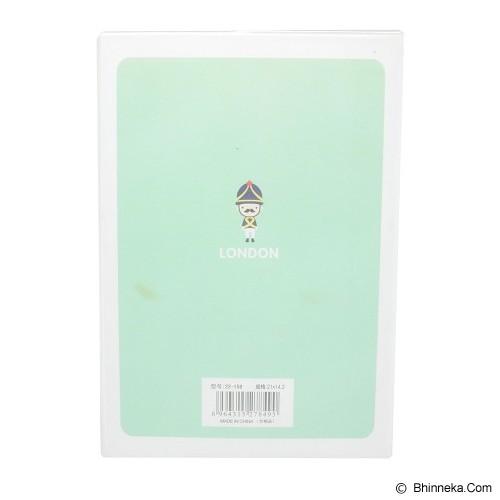 SSLAND Notebook The Queen's Guard 21cm [6008] - Green (V) - Buku Catatan / Journal
