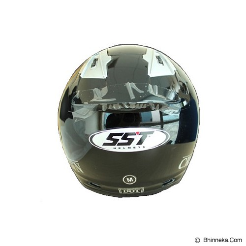 SST Helmet All Size - Black - Helm Motor Half Face