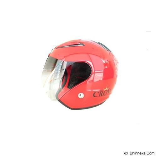 SST Helmet All Size - Red - Helm Motor Half Face