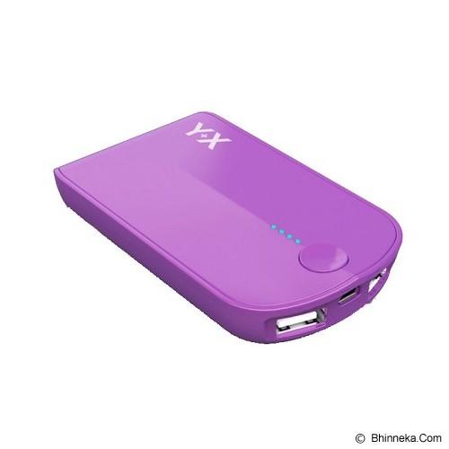 ST-VANILLA STORE Powerbank Y+X 3000mAh [PB003] - Purple - Portable Charger / Power Bank