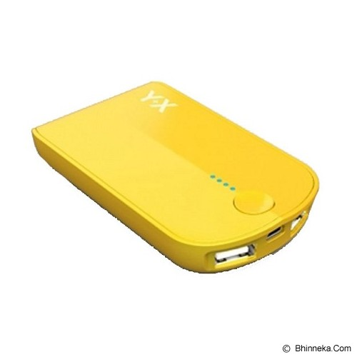 ST-VANILLA STORE Powerbank Y+X 3000mAh [PB004] - Yellow - Portable Charger / Power Bank