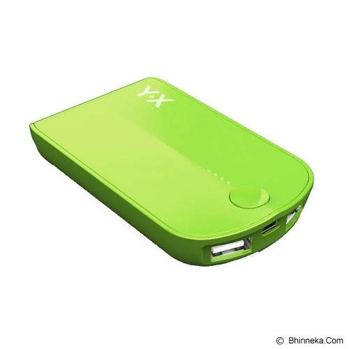 ST-VANILLA STORE Powerbank Y+X 3000mAh [PB005] - Green - Portable Charger / Power Bank