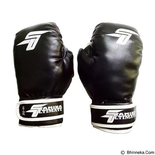 STAMINA Boxing Gloves 8 oz ST-303-08BK - Black