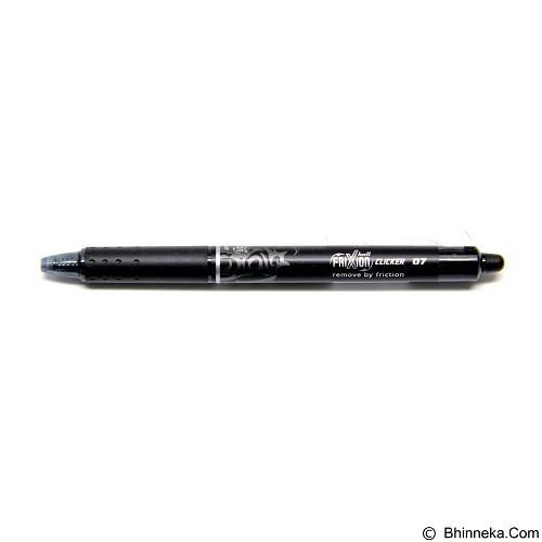 PILOT Ball Pen Frixion Clicker [Blrt-Frp 0.7] - Black - Pen / Ballpoint
