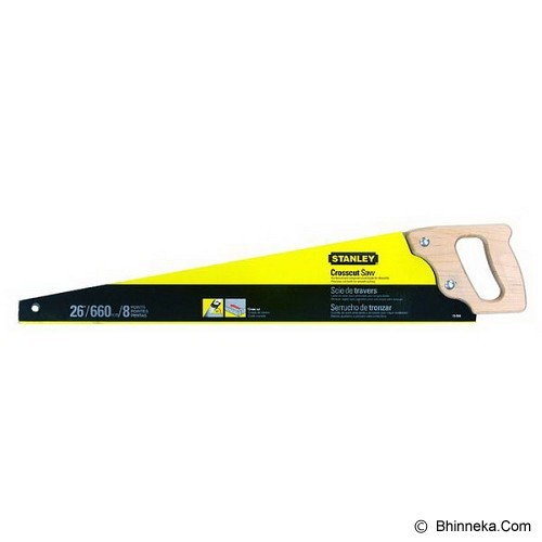 STANLEY Saw  Wood Handle 20