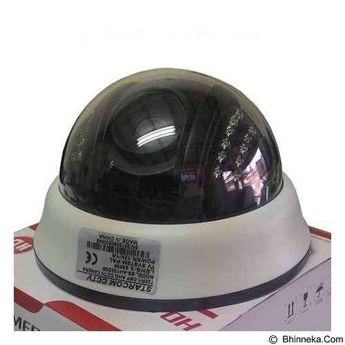 STARCOM Camera Fulldome [CMR-FDM-STD-1006] - CCTV Camera