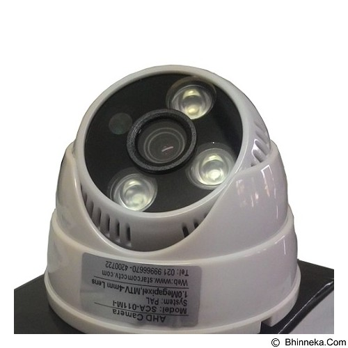 STARCOM Camera Indoor [CMR-DM-AHD-1005] - Cctv Camera