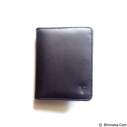 STARKE Leather Co Urbane Pudu - Navy - Dompet Pria