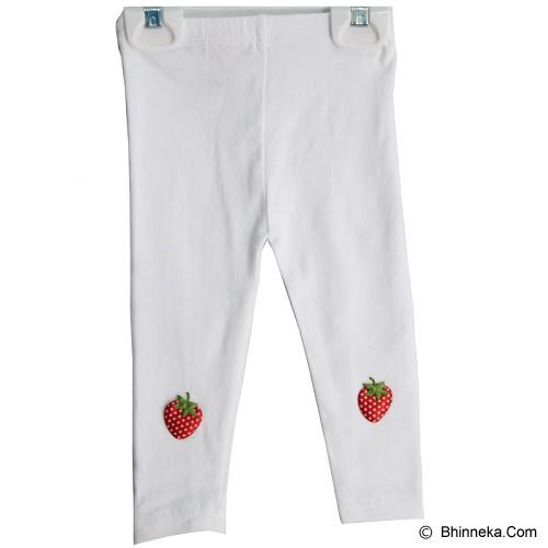 BABY WAREHOUSE Strawberry Baby Legging Size S - White - Legging and Stocking Bayi dan Anak