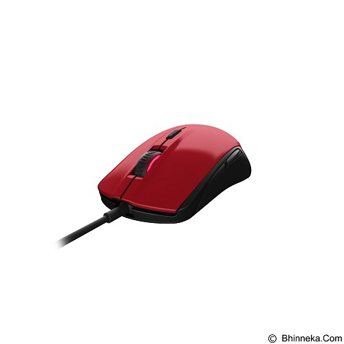 STEELSERIES Mouse Rival 100 - Forged Red (Merchant) - Gaming Mouse