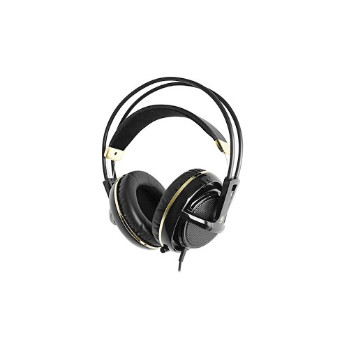 STEELSERIES Siberia v2 Full-Size Headset - Black & Gold - Gaming Headset