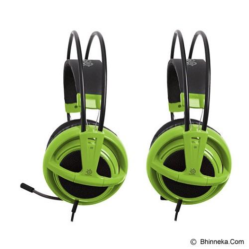 STEELSERIES Siberia v2 Full-Size Headset - Green - Gaming Headset