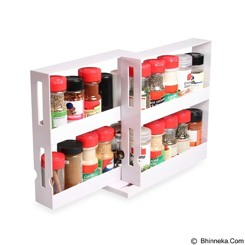 SUGU Swivel Store Box Food Rack (Merchant) - Tempat Bumbu
