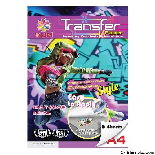 SUN Next Generation Transfer Paper Light A4 (Merchant) - Kertas Foto / Photo Paper
