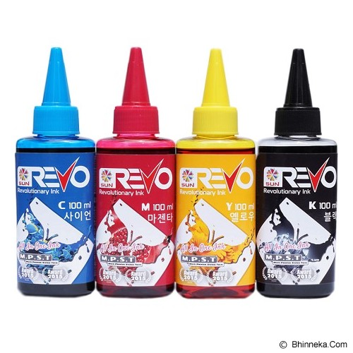 SUN Revo Ink BCMY 100ml - Tinta Printer Refill