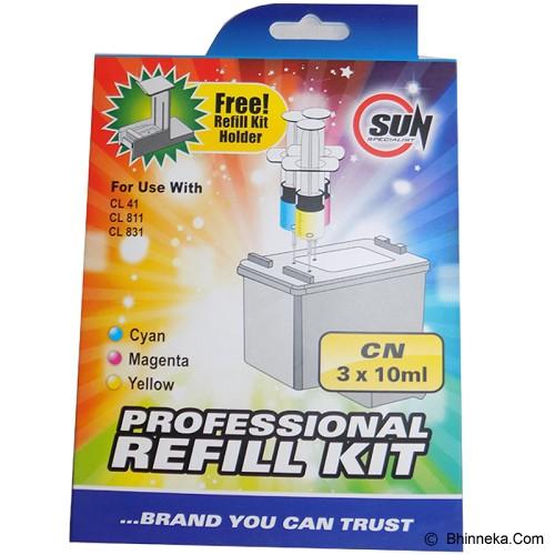 SUN Tinta Refill Kit Canon Colour - Tinta Printer Refill