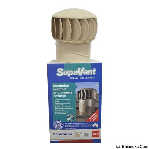 SUPAVENT Natural Roof Ventilator [SV5] - Beige (Merchant) - Turbine Ventilator