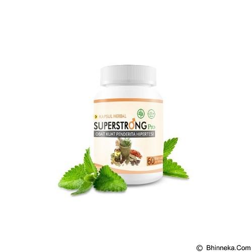 SUPERSTRONG PRO Obat Herbal Pria (Merchant) - Terapi Fisiologis Pria