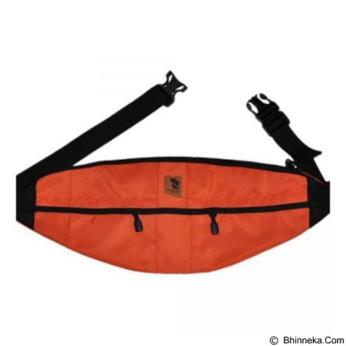 SURVIVOR GEAR Waist Bag - Orange (Merchant) - Tas Pinggang/Travel Waist Bag