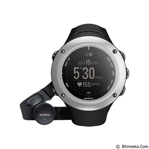 SUUNTO Ambit S Graphite Jam Tangan Sport Pria [SM2BY-C2] - Black (Merchant) - GPS & Running Watches