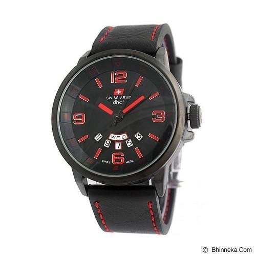 SWISS ARMY Watch [SA1128] - Black/Red - Jam Tangan Pria Casual