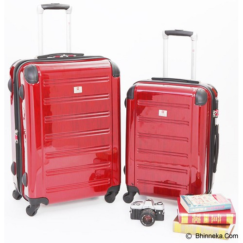 SWISS Military Trolley Case - Red - Koper